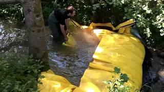 barrage rivière deci watergate sdis belfort