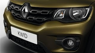 upcoming car renault kwid price in india   interior and exterior view   price 3 5 lakhs