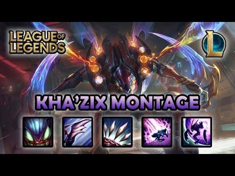 KHAZIX MONTAGE - Best One Shot | Odyssey Kha'zix Skin | League of Legends