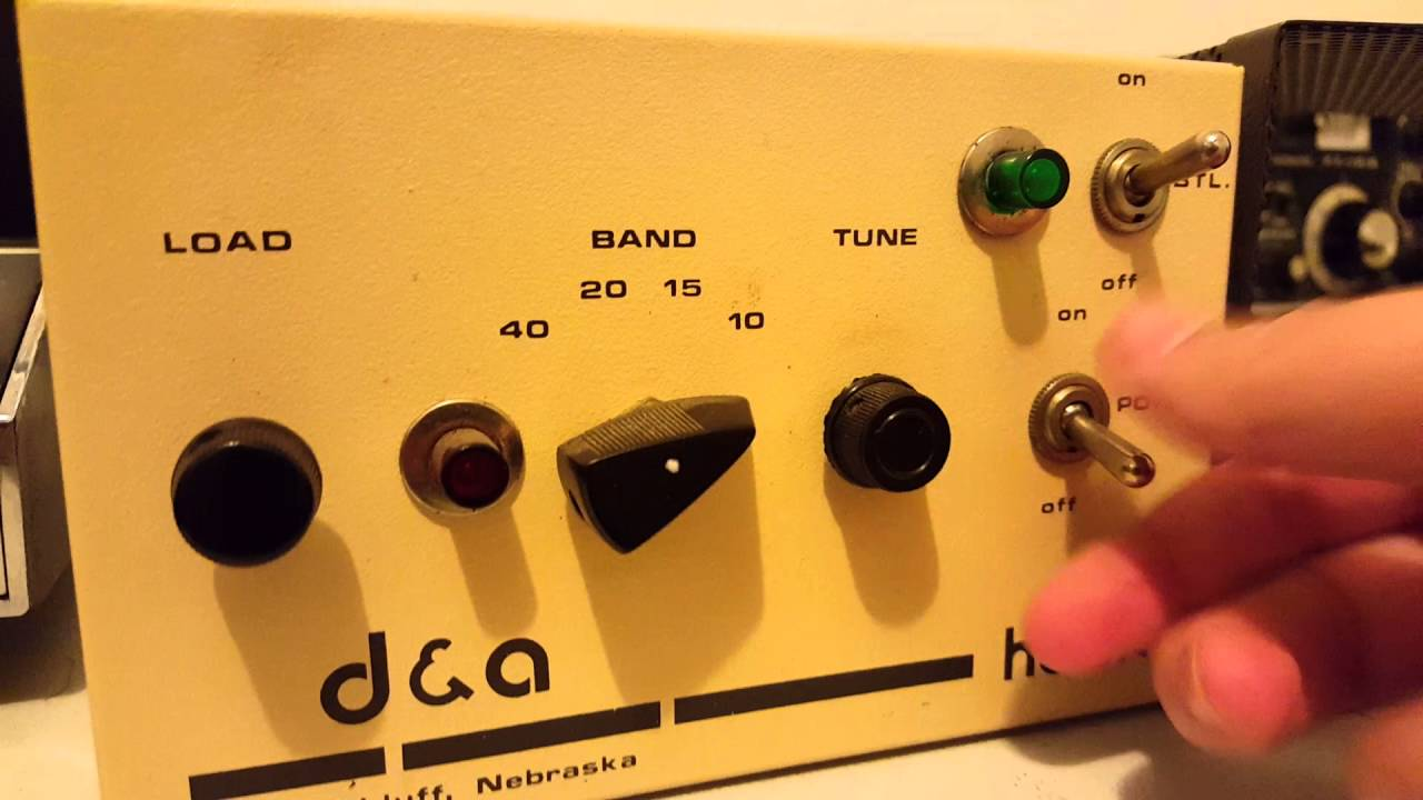 D&A Hawk Linear Amplifier Modulator Vintage CB Radio