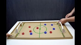 How to make Football Board GAME from Cardboard DIY at HOME