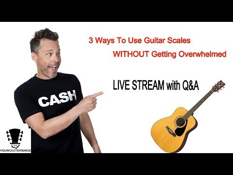 3 Ways to Use Scales Without Getting Overwhelmed  + Live Q&A