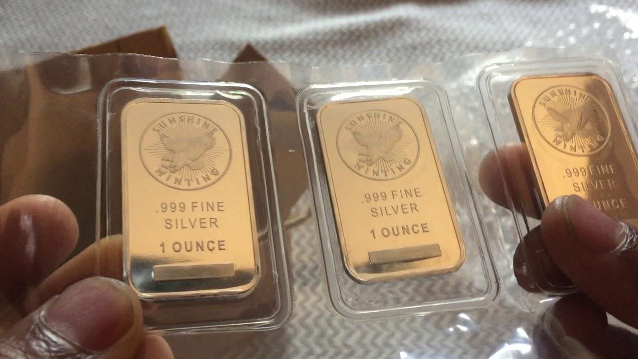 1 Gram Gold And Oz Silver Bullion