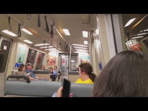 Taking Bart from Embarcadero Station - SFO Airport (Part 1)