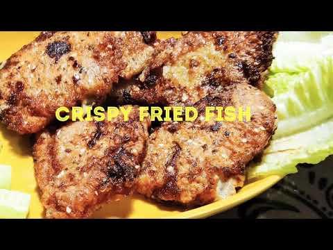 Crispy Fried Fish Fillet