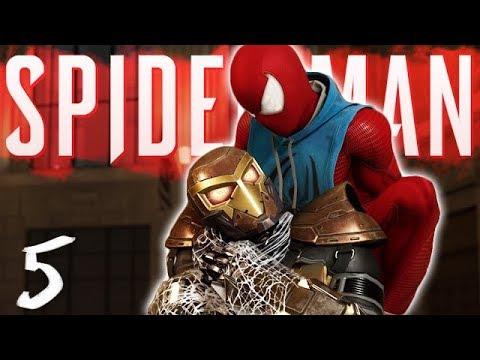 THE SHOCKER BOSS FIGHT : Marvels Spider-Man PS4 Part 5