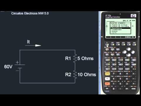 HP50G Circuitos Electricos NW 5