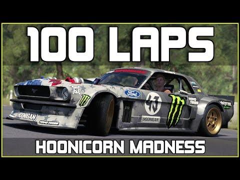 Forza Horizon 3 - 100 LAPS IN 1 SKILL-CHAIN - 1400HP HOONICORN