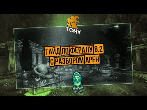 Гайд по ферал друиду 8.2.0 (с разбором арен) Battle For Azeroth