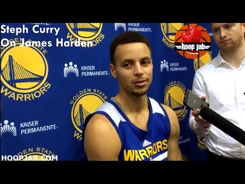 Steph Curry Breaks Down How James Harden & The Houston Rockets Play. HoopJab NBA