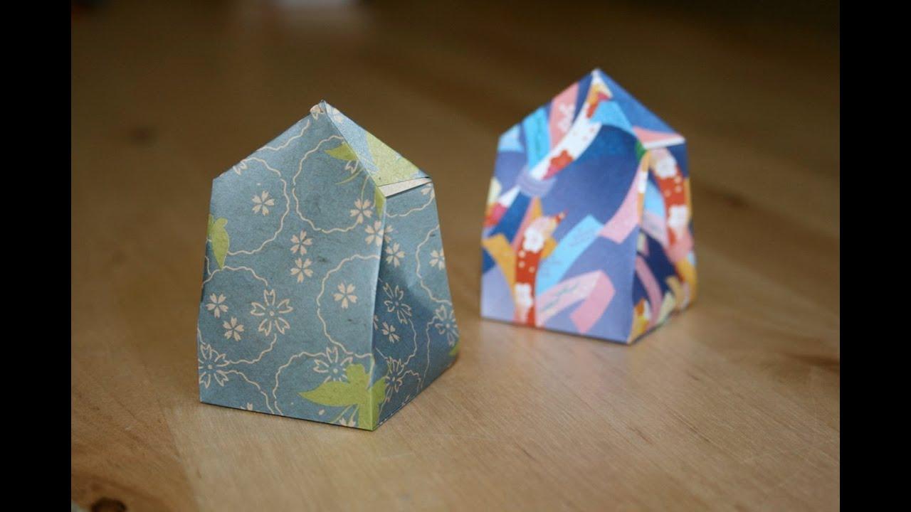 Christmas Origami - Gift box - YouTube