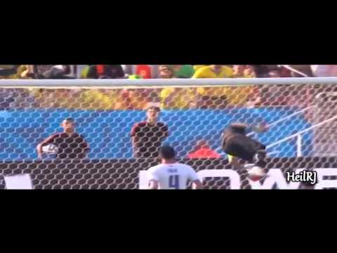 Claudio Bravo mejores tapadas● mundial brasil 2014   HD