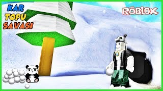 WE are SNOWBALL with PANDA! Roblox