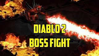 Diablo 2 - Boss Fight vs Diablo