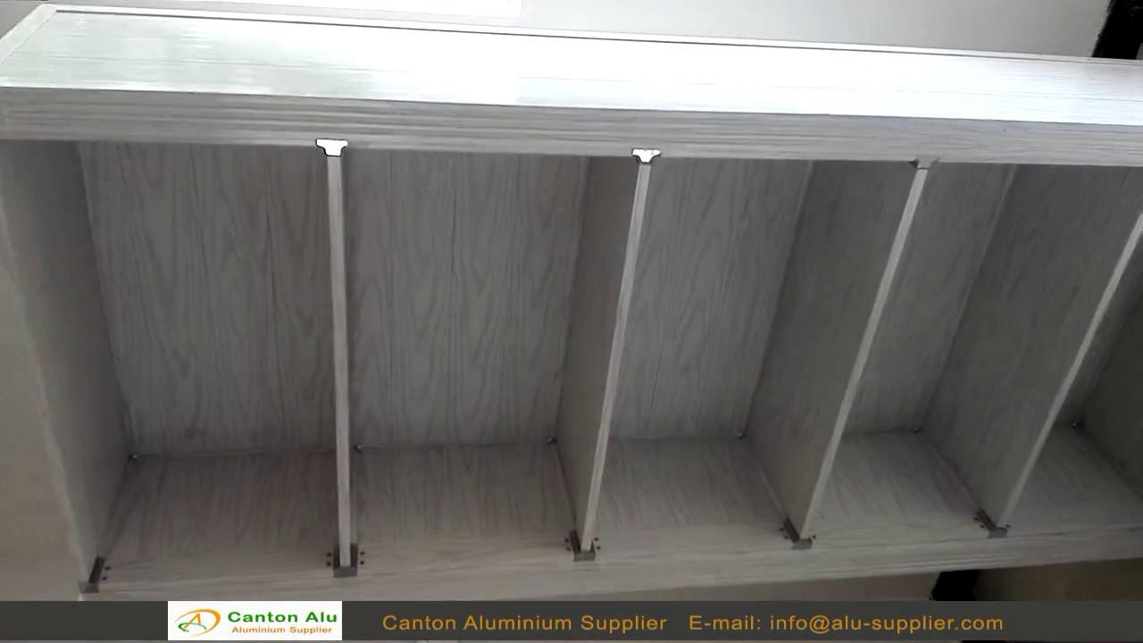 Aluminium Cabinet Manufacturers : Aluminium kitchen cabinet manufacturer in china youtube
