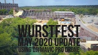 Wurstfest Construction Update - May 2020 (New Braunfels)