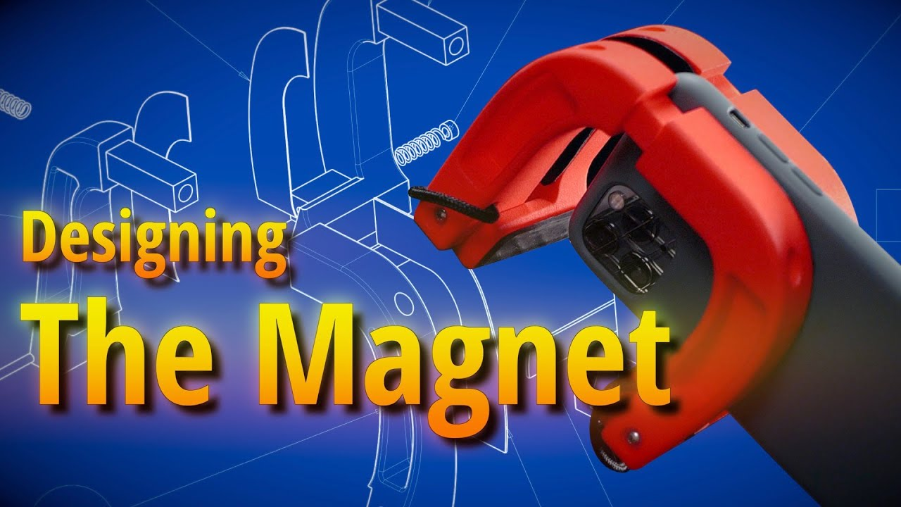 Designing The Magnet!  The best phone camera mount for guitarists