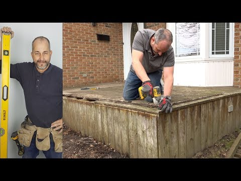 DIY Weekend Deck Project – Part 1 Deck Board Removal