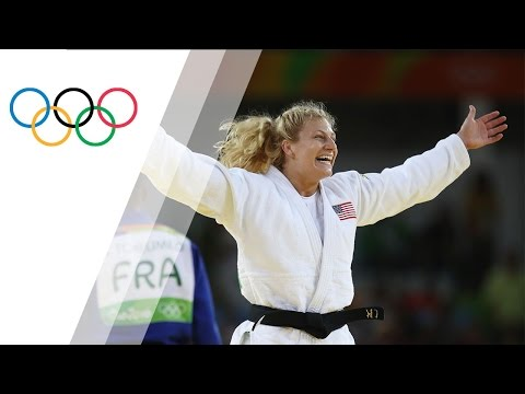 Harrison wins gold in Women's Judo -78kg for the USA