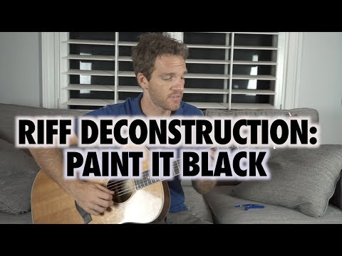 Riff Deconstruction: Paint it Black - The Rolling Stones