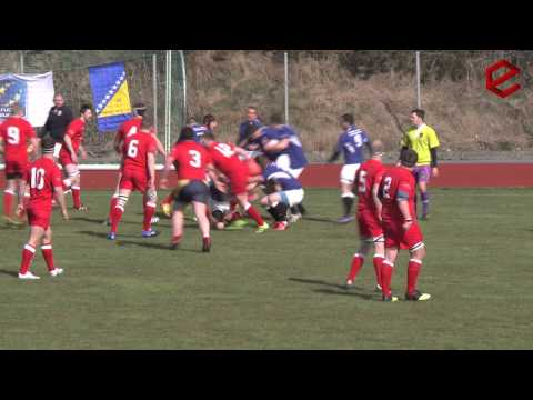 Rugby match, Norway - Bosnia