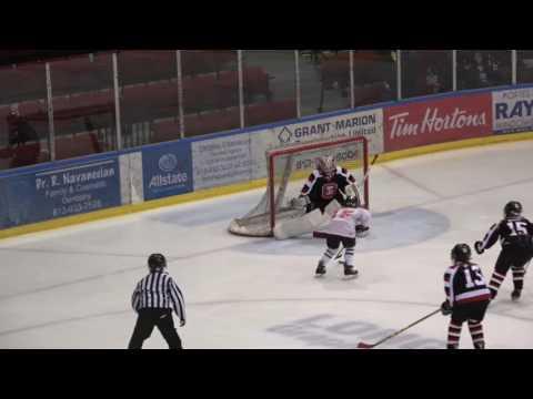 Ottawa Lady 67s vs. Cornwall Hurricanes - Goalie Highlights