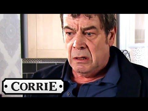 Coronation Street - Johnny Finds Aidan's Body