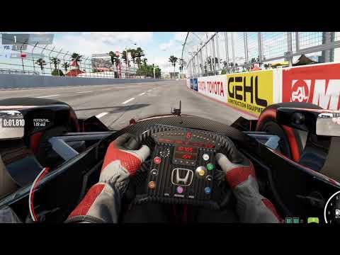 Project Cars 2, Oculus Rift, Long Beach, Indycar, Initial test laps