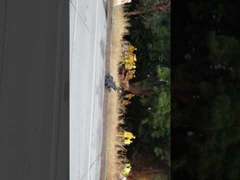 Lamborghini Crash on Burbank