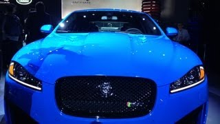 2014 jaguar xfr s storms onto the world stage at the la auto show