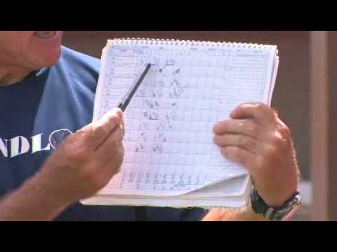 How To Keep A Baseball Score Book Youtube