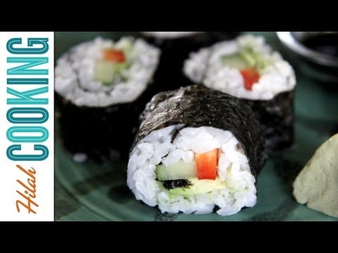 How To Make Sushi Rolls | Hilah Cooking
