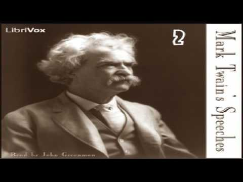 Mark Twain's Speeches, Part 2 | Mark Twain | Humor, Literary Collections, Modern (19th C) | 1/11