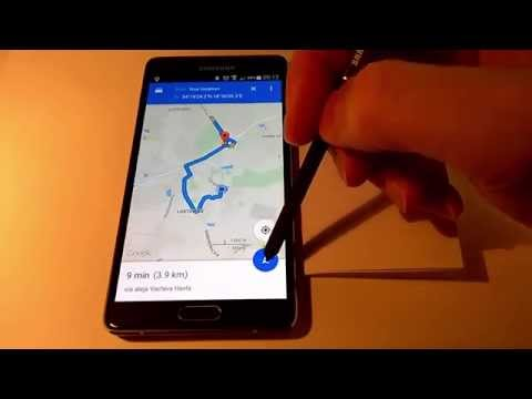 how to save your favourite places in google maps on android phone