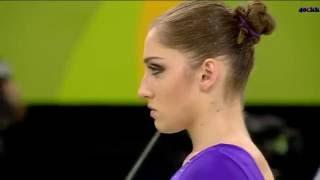 Алия Мустафина - выступление, разновысокие брусья, финал ОИ в Рио-2016