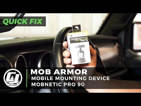 Mob Armor | MobNetic Pro 90 Black Mobile Mounting Device