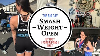 THE BIG DAY – My First Powerlifting Meet – SCULPTED STRENGTH SEASON FINALE