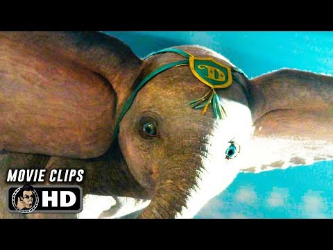 DUMBO Clips + Trailer (2019) Tim Burton