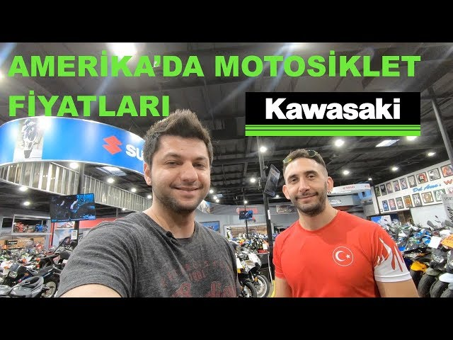 Amerika'da Motosiklet Fiyatları 2018: Kawasaki