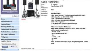 Harga Paket Sound System