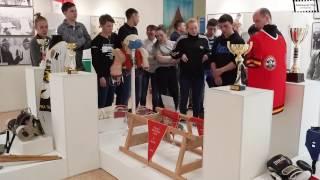 видео Выставка «Быстрее! Выше! Сильнее!» в Самарском областном художественном музее