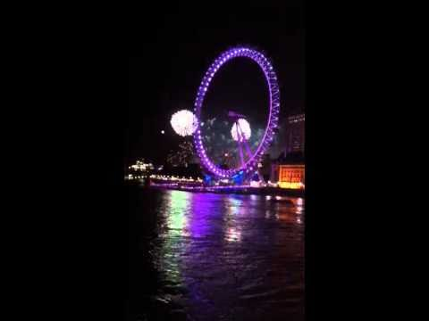 Fireworks, Thames River Festival 2010