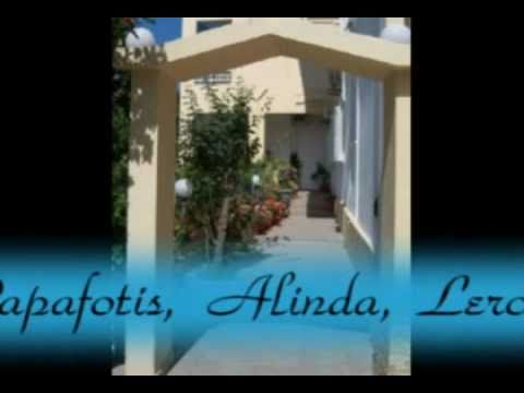 Greek Island Of Leros - Hotel Papafotis, Alinda