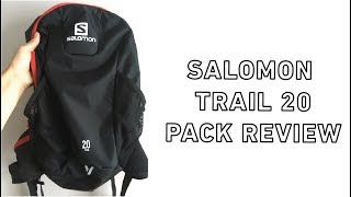 SALOMON TRAIL 20 BACKPACK PRODUCT REVIEW