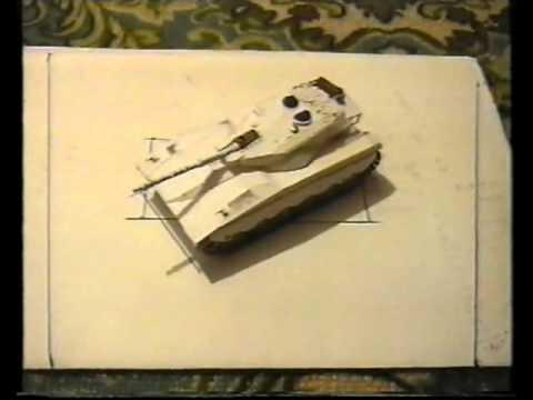 создание танка Меркава МК.1 из