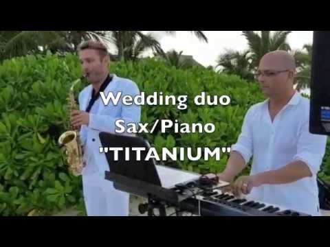 Hard Rock Punta Cana Wedding. Duo Sax/Piano music
