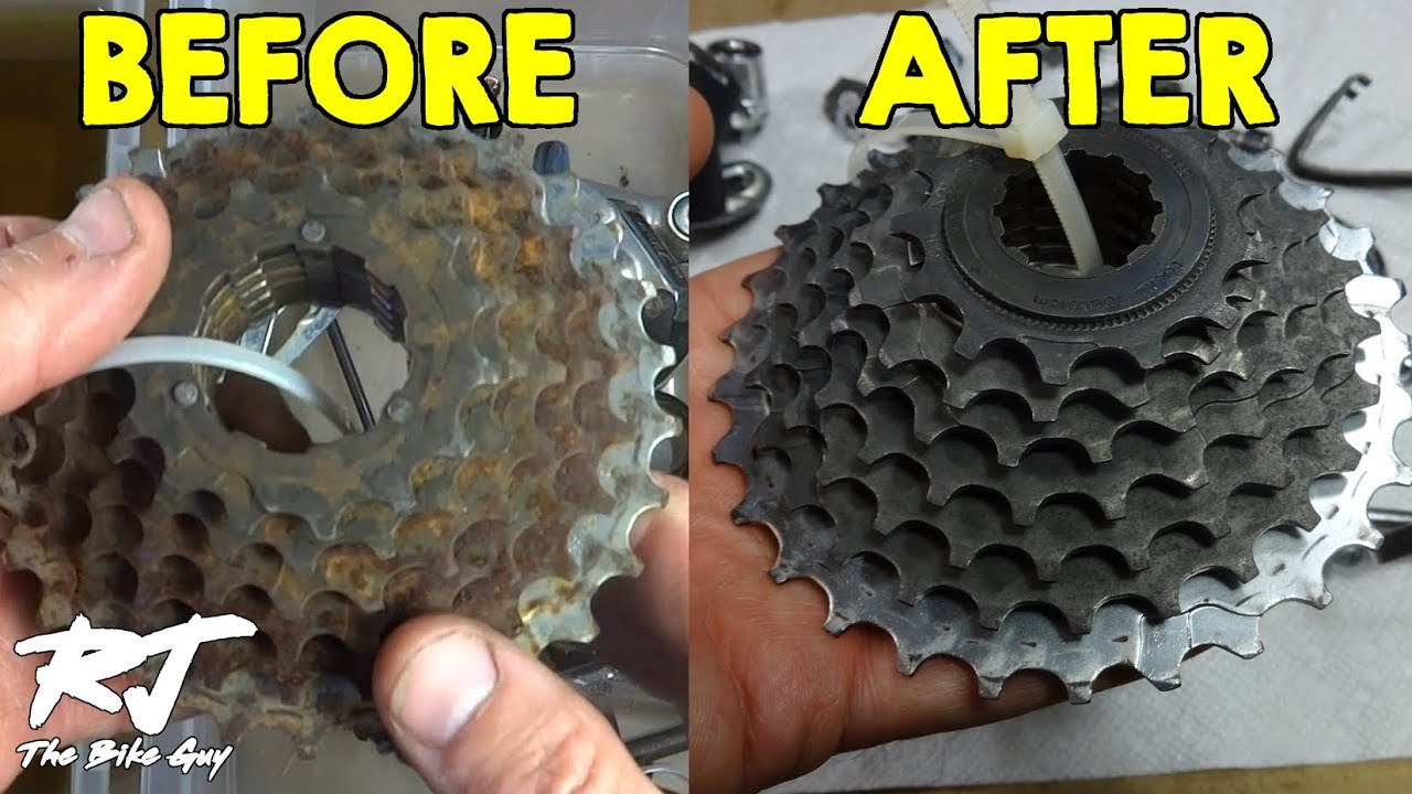 Remove Rust From Bike Parts Using Evapo Rust Easy Youtube