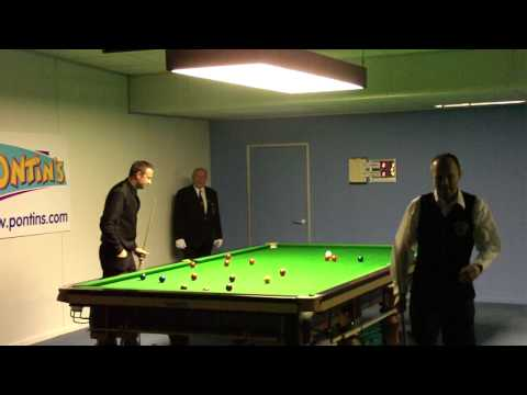 Ian Gould at 2009 Snooker Home Internationals