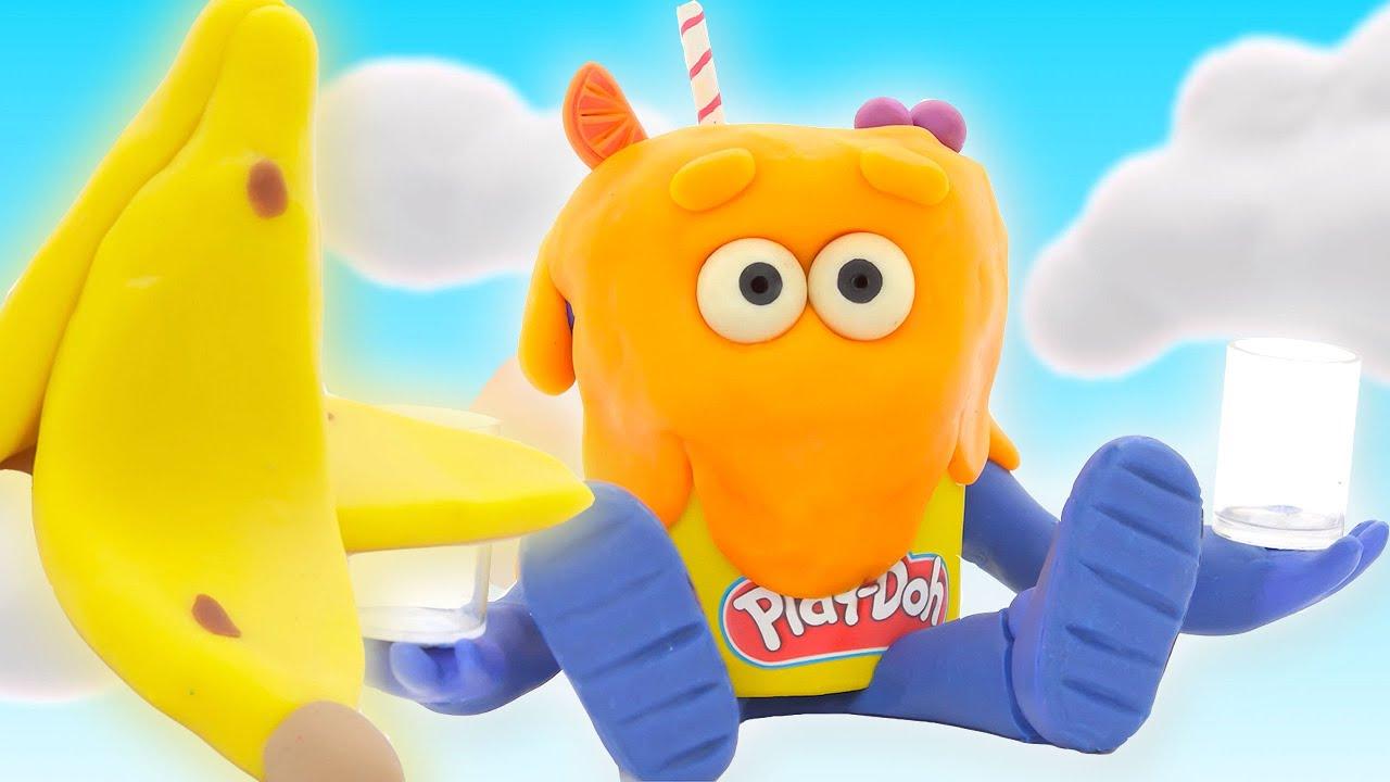 Шоу Play-Doh Сезон 2   Грязная еда   странице Play-Doh