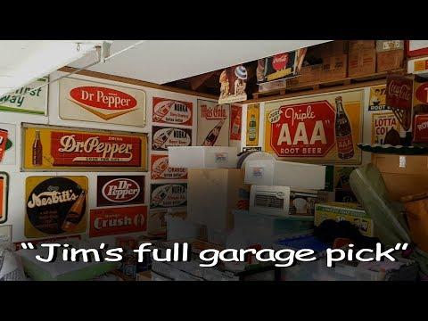 "Mantiques Network ""Jim's Full Garage Pick"" episode"